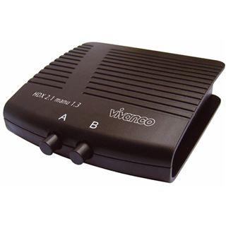 Vivanco 25349 2-fach HDMI-Umschalter manuell