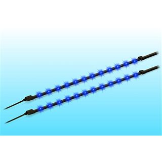 Delock LED Lichtstreifen mit Netzteil blau