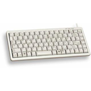 CHERRY G84-4100LPMFR-0 Slim Line Tastatur Beige Französisch PS/2