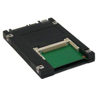 """InLine Schnittstellenkarte 6,35cm (2,5"""") SATA/USB auf CF Karte"""