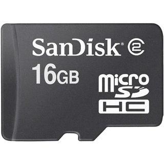 16 GB SanDisk Standard microSDHC Class 2 Bulk