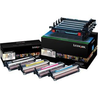 Lexmark Toner 0C540X74G Trommel schwarz