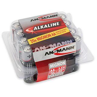 ANSMANN AA / Mignon Alkaline 1.5 V 20er Pack