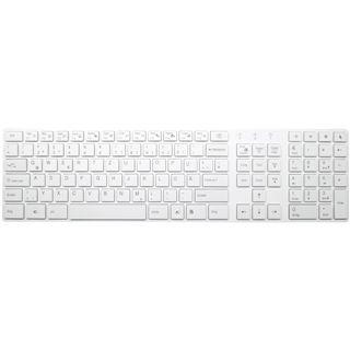Arctic Cooling K381 Tastatur Weiß Deutsch USB