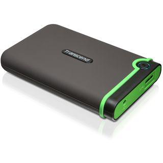 "500GB Transcend StoreJet 25M3 TS500GSJ25M3 2.5"" (6.4cm) USB 3.0 schwarz/grün"