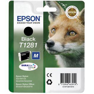Epson C13T12814010 Schwarz 5,9ml
