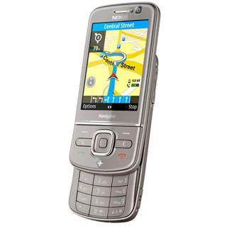 Nokia 6710 Navigator NAVI titanium inkl. Halter CR-111 + Saugfuß HH-20 + Zig-Kabel DC-4