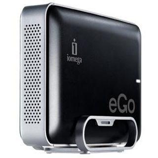 """2000GB Iomega eGo Charcoal 34985/34986 3.5"""" (8.9cm) USB 3.0 silber/schwarz"""