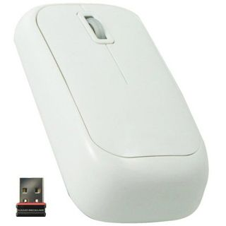 Perixx Wireless Perimice-708 Optische Maus Weiß USB