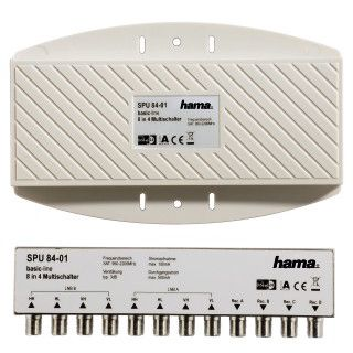 Hama SAT-Multischalter 8/4 DiSEqC 2.0