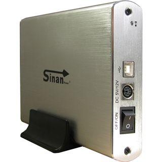 """Inter-Tech SinanPower G-3500 3.5"""" (8,89cm) USB 2.0 silber"""