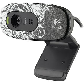 Logitech Web Kamera C270 1.0 MPixel 1280x720 Schwarz USB 2.0