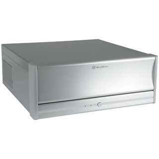 Silverstone Lascala LC13-E Desktop ohne Netzteil silber