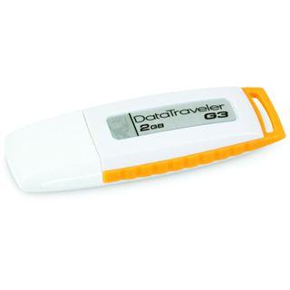 2 GB Kingston DataTraveler Generation 3 (G3) gelb USB 2.0