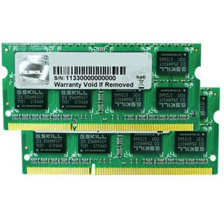 8GB G.Skill F3-10666CL9D-8GBSQ DDR3-1333 SO-DIMM CL9 Dual Kit