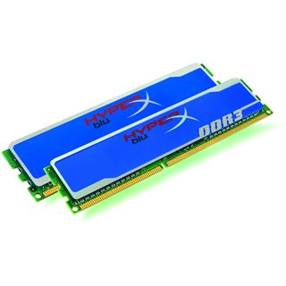 4GB Kingston HyperX blu. DDR3-1333 DIMM CL9 Dual Kit
