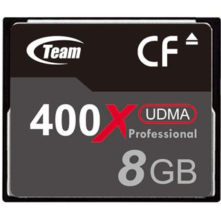 8 GB TeamGroup Standard Compact Flash TypI 400x Bulk