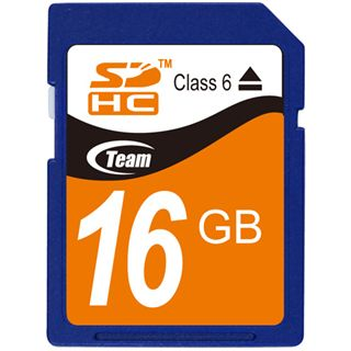 16 GB TeamGroup Standard SDHC Class 6 Bulk