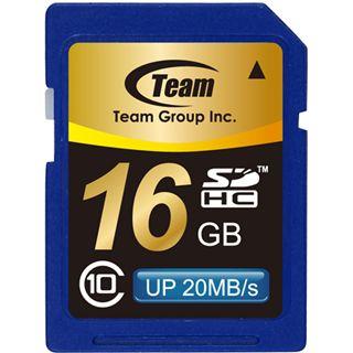 16 GB TeamGroup Standard SDHC Class 10 Bulk