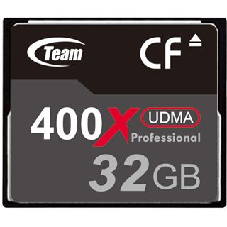 32 GB TeamGroup Standard Compact Flash TypI 400x Bulk