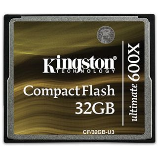 32 GB Kingston Ultimate Compact Flash TypI 600x Retail