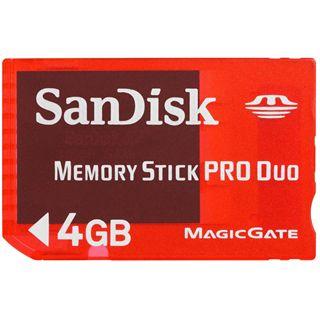 4 GB SanDisk Pro Duo Gaming Memory Stick Retail
