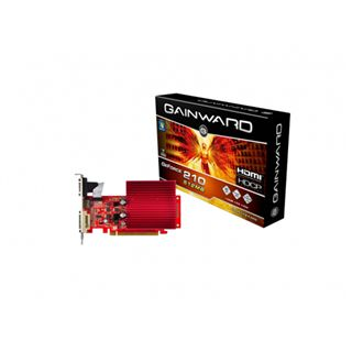 512MB Gainward GeForce 210 Passiv PCIe 2.0 x16 (Retail)