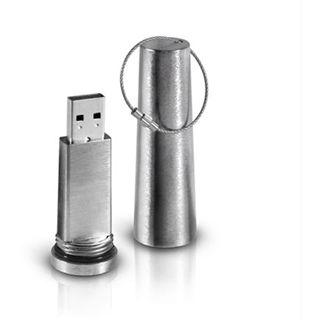 8 GB LaCie XtremKey silber USB 2.0