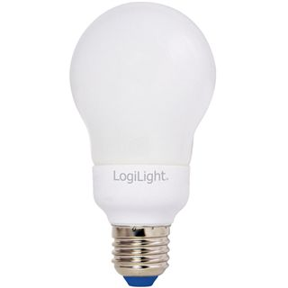 LogiLight E27 Energiesparlampe, 9W, 405 lm , 2700 K