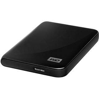 "500GB WD My Passport Essential WDBACY5000ABK-EESN 2.5"" (6.4cm) USB 3.0 schwarz"