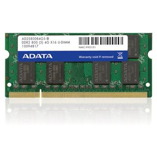 2GB ADATA AD2S800B2G6-S DDR2-800 SO-DIMM CL6 Single