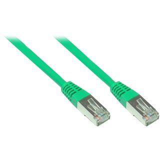 (€0,82*/1m) 6.00m Good Connections Cat. 5e Patchkabel FTP RJ45 Stecker auf RJ45 Stecker Grün