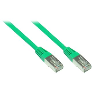 7.00m Good Connections Cat. 5e Patchkabel FTP RJ45 Stecker auf RJ45 Stecker Grün