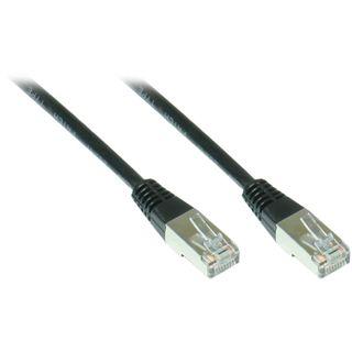 6.00m Good Connections Cat. 5e Patchkabel FTP RJ45 Stecker auf RJ45 Stecker Schwarz