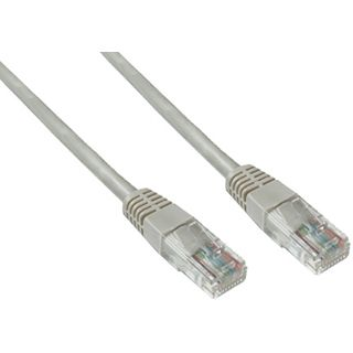 (€7,80*/1m) 0.50m Good Connections Cat. 5e Patchkabel U/UTP RJ45 Stecker auf RJ45 Stecker Grau