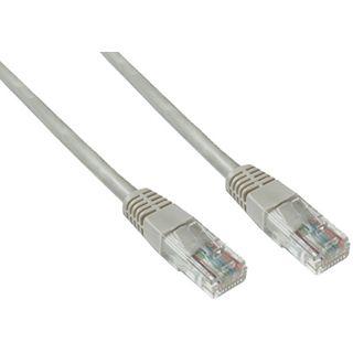 (€3,90*/1m) 1.00m Good Connections Cat. 5e Patchkabel UTP RJ45 Stecker auf RJ45 Stecker Grau