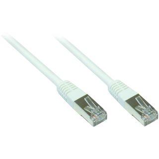 5.00m Good Connections Cat. 5e Patchkabel FTP RJ45 Stecker auf RJ45 Stecker Weiß