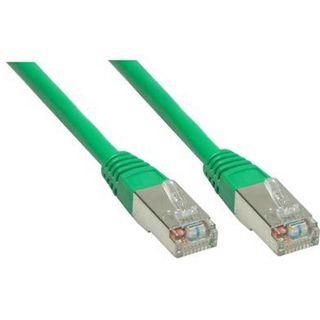 (€7,80*/1m) 0.50m Good Connections Cat. 6 Patchkabel S/FTP PiMF RJ45 Stecker auf RJ45 Stecker Grün