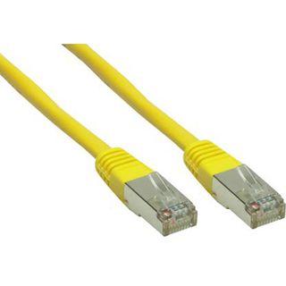 (€1,63*/1m) 3.00m Good Connections Cat. 6 Patchkabel S/FTP PiMF RJ45 Stecker auf RJ45 Stecker Gelb