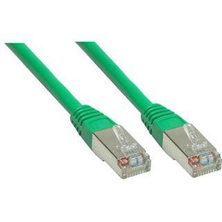 (€0,98*/1m) 5.00m Good Connections Cat. 6 Patchkabel S/FTP PiMF RJ45 Stecker auf RJ45 Stecker Grün