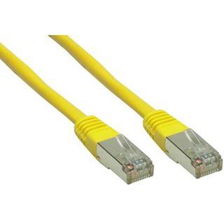 (€0,60*/1m) 30.00m Good Connections Cat. 6 Patchkabel S/FTP PiMF RJ45 Stecker auf RJ45 Stecker Gelb