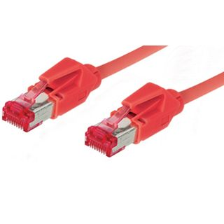 3.00m Good Connections Cat. 6 Patchkabel S/FTP PiMF RJ45 Stecker auf RJ45 Stecker Rot halogenfrei