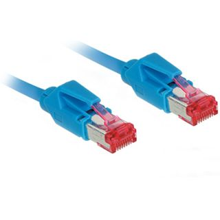10.00m Good Connections Cat. 6 Patchkabel S/FTP PiMF RJ45 Stecker auf RJ45 Stecker Blau halogenfrei