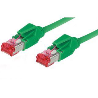 10.00m Good Connections Cat. 6 Patchkabel S/FTP PiMF RJ45 Stecker auf RJ45 Stecker Grün halogenfrei