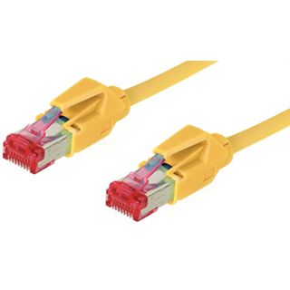 30.00m Good Connections Cat. 6 Patchkabel S/FTP PiMF RJ45 Stecker auf RJ45 Stecker Gelb halogenfrei