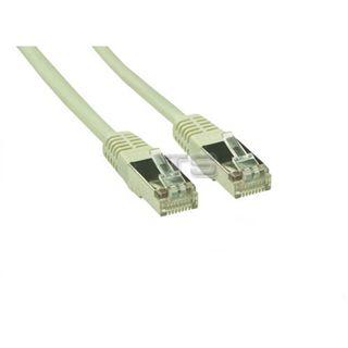 (€0,53*/1m) 15.00m Good Connections Cat. 5e Patchkabel S/FTP RJ45 Stecker auf RJ45 Stecker Grau