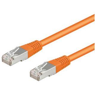 (€7,80*/1m) 0.50m Good Connections Cat. 5e Patchkabel S/FTP RJ45 Stecker auf RJ45 Stecker Orange