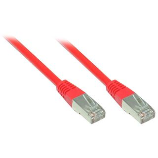 7.00m Good Connections Cat. 5e Patchkabel S/FTP RJ45 Stecker auf RJ45 Stecker Rot