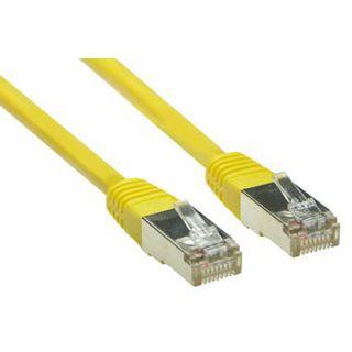 (€0,69*/1m) 10.00m Good Connections Cat. 5e Patchkabel S/FTP RJ45 Stecker auf RJ45 Stecker Gelb