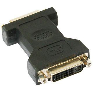 Good Connections Adapter DVI 24+5 Buchse auf DVI 24+5 Buchse Schwarz